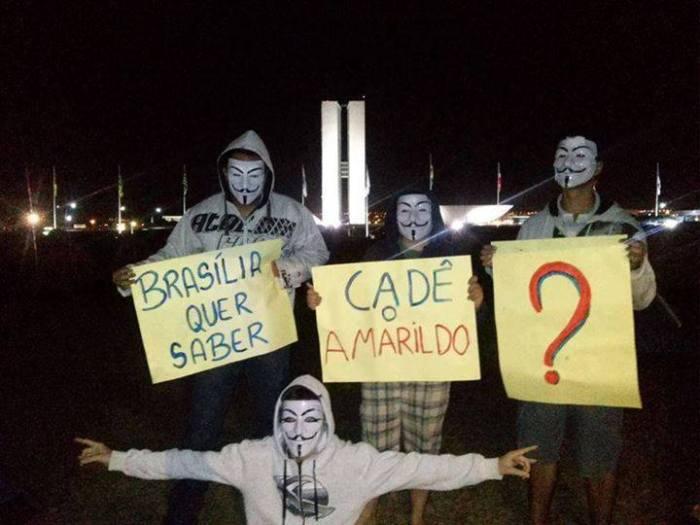 Solidarisierung im Internet und auf der Straße: Wo ist Amarildo?