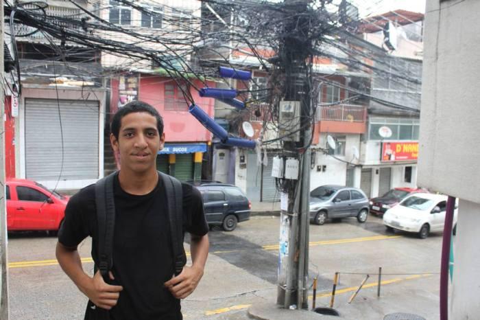 Favelareporter Michel Silva (Foto: BuzzingCities)
