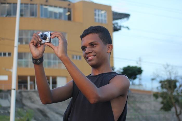 Tiago Bastos: Favelareporter und Fotograf (Foto: BuzzingCities)