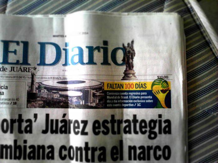 Diario de Juarez: Countdown bis zur WM