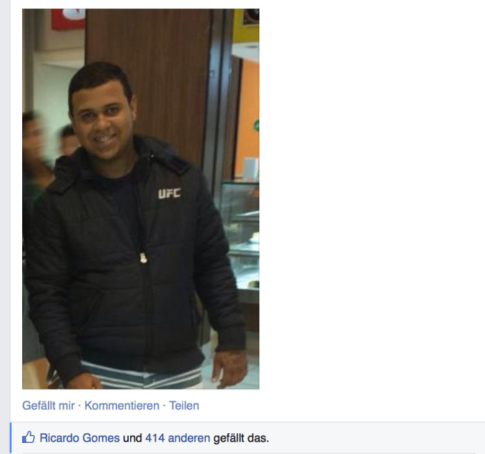 Caio (Screenshot Facebook)
