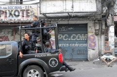 Bopes bei der Besetzung der Rocinha (Credits: BuzzingCities)