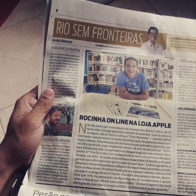 News aus der Favela – Bürgerreporter Michel Silva (Foto: Michel Silva)