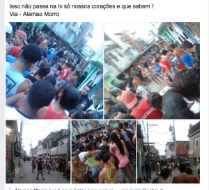Complexo do Alemao: Fotos der Opfer kursierten schnell im Netz (Screenshot facebook)
