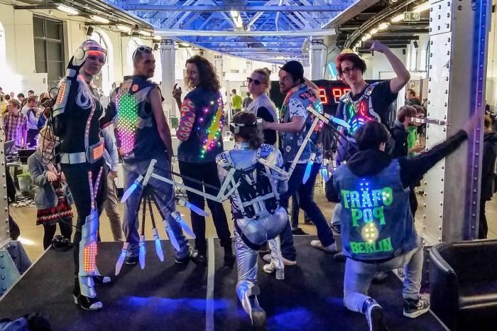 Trafopop-Show bei der MakerFaire 2015 (Foto: Trafopop)