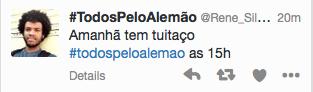 Twitteraktion für das Complexo do Alemão zum Jahrestag