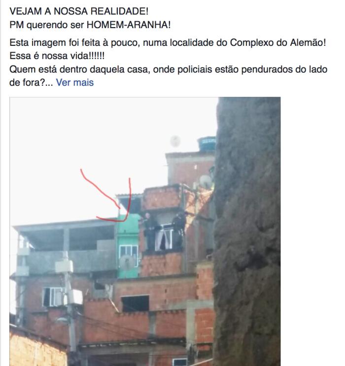 Screenshot: Facebook