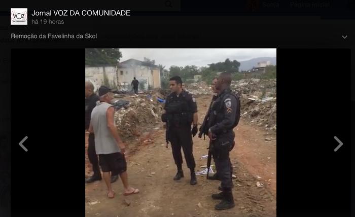 Räumung der Favela